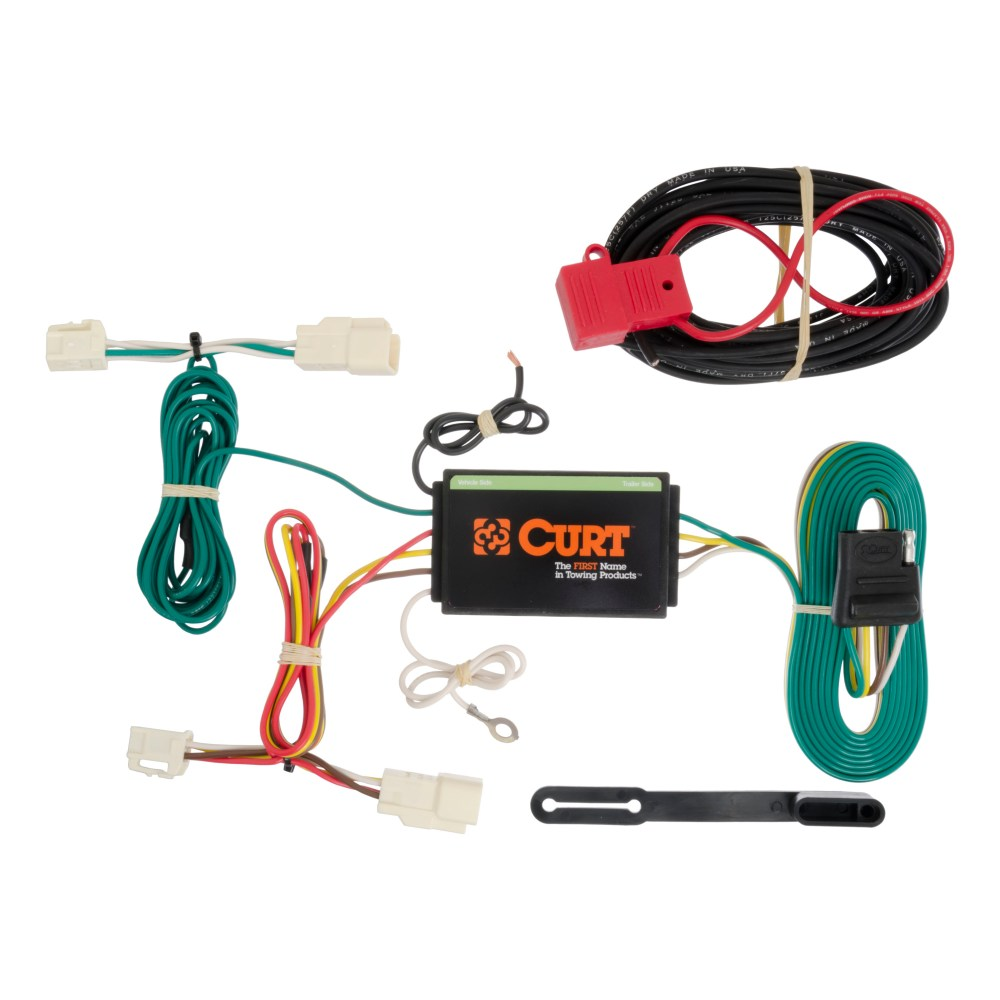 medium resolution of curt vehicle to trailer wiring harness 56189 for 14 16 mitsubishi outlander