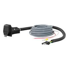 Curt 7 Way Rv Blade Wiring Diagram Phone Jack Nz Manufacturing 4 Flat Electrical Adapter