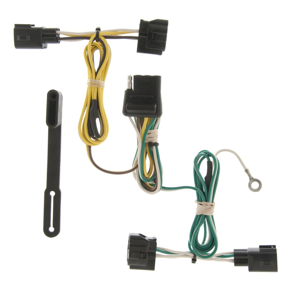 medium resolution of custom wiring harness 4 way flat output 55363