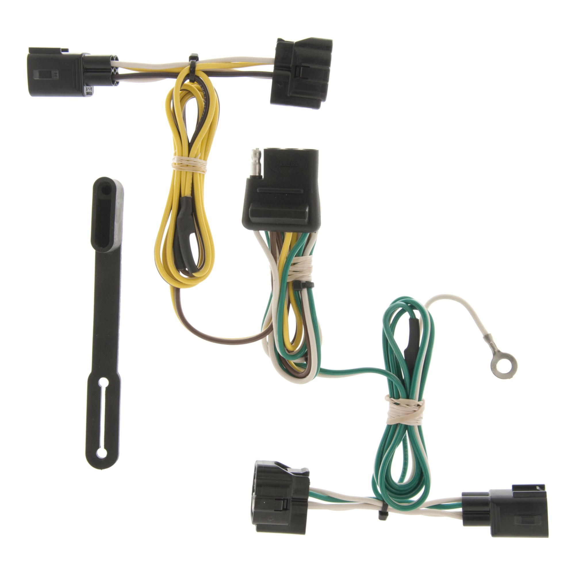 hight resolution of custom wiring harness 4 way flat output 55363
