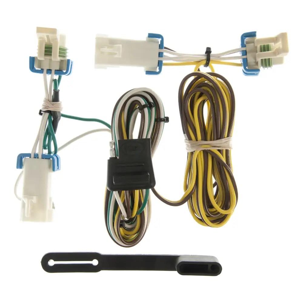 hight resolution of custom wiring harness 4 way flat output 55383