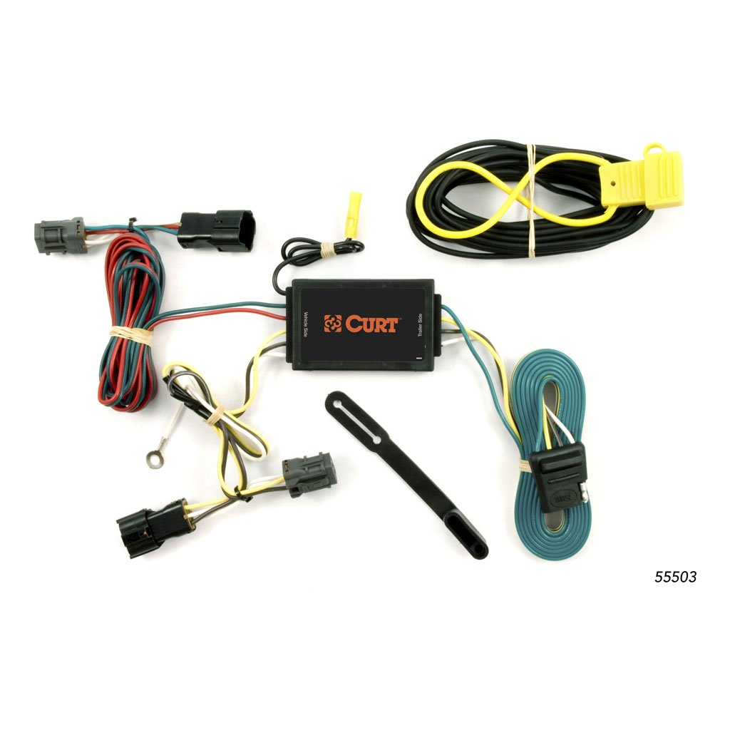 hight resolution of custom wiring harness 4 way flat output 55503