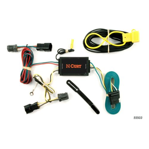 small resolution of custom wiring harness 4 way flat output 55503