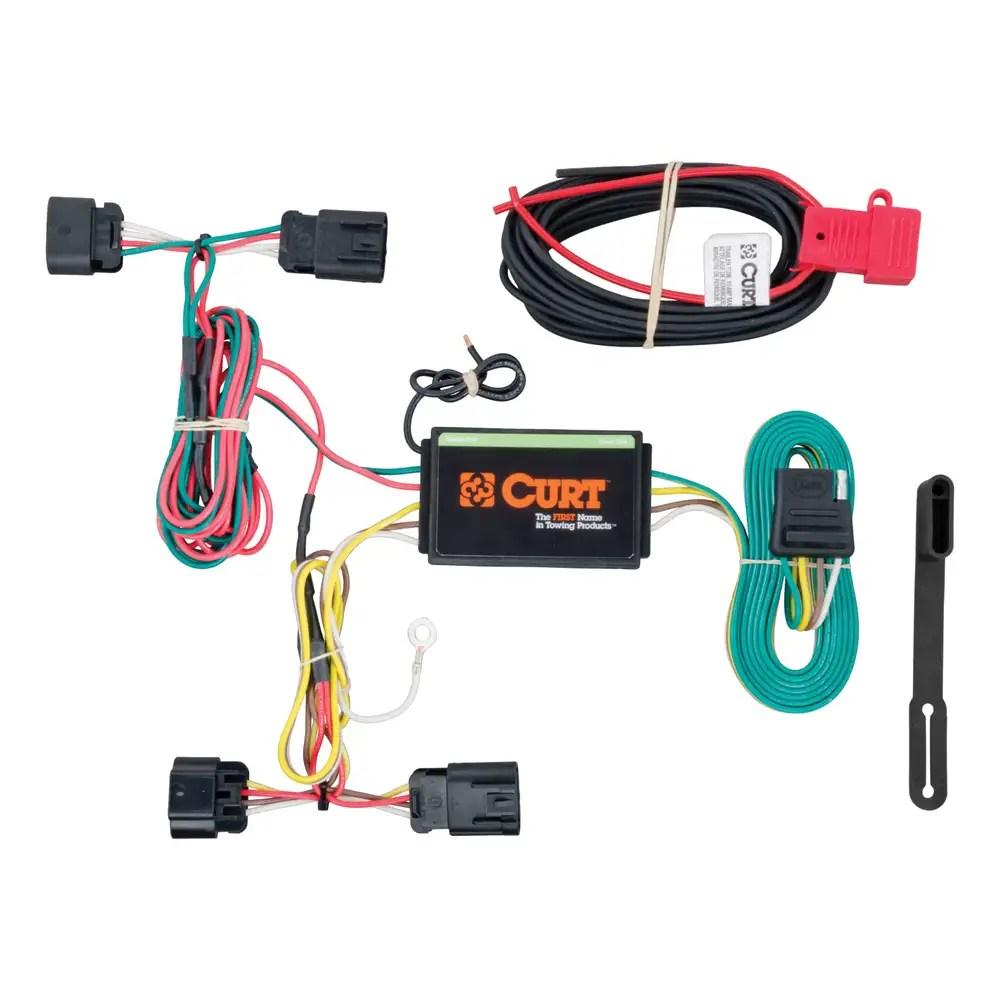 medium resolution of custom wiring harness 4 way flat output 56211