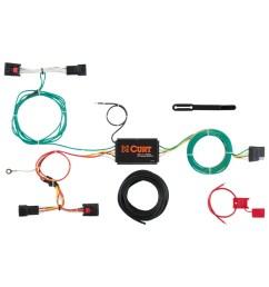 custom wiring harness 4 way flat output 56297 [ 3008 x 3008 Pixel ]