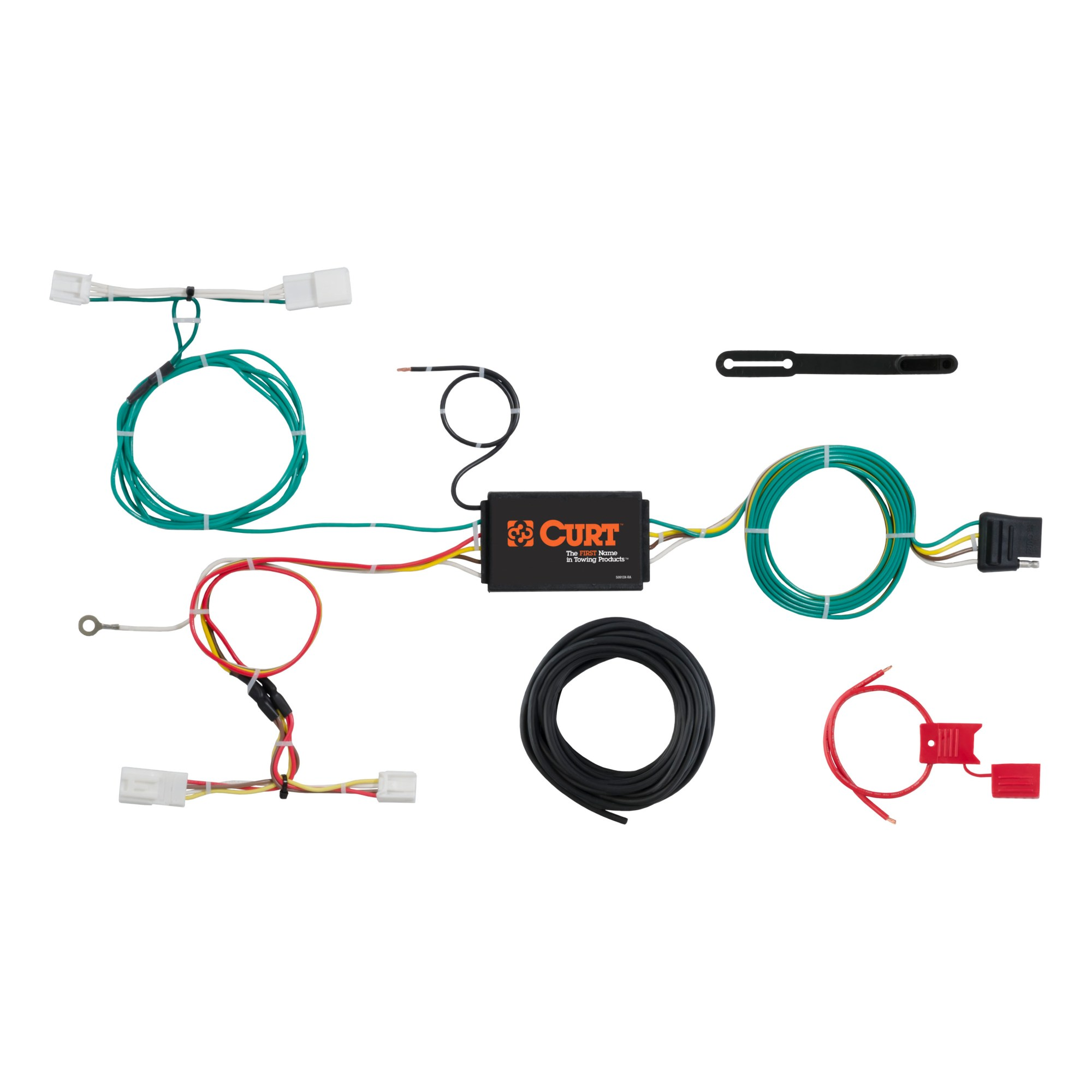 hight resolution of custom wiring harness 4 way flat output 56309