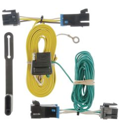 custom wiring harness 4 way flat output sku 55540 for 35 94 by express van factory trailer wiring harness chevrolet [ 1024 x 1024 Pixel ]