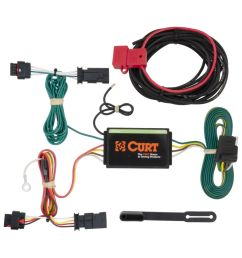 custom wiring harness 4 way flat output 2012 chevy traverse trailer wiring harness  [ 1024 x 1024 Pixel ]