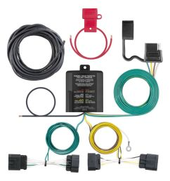 custom wiring harness 4 way flat output sku 56336 for 75 77 by converter wiring kit for battery powered tail light converters camper [ 1024 x 1024 Pixel ]