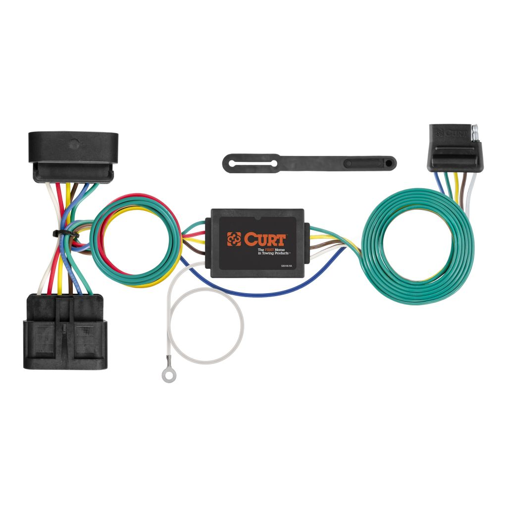 hight resolution of 5 pin trailer wiring diagram gmc canyon 2006 custom wiring harness 5 way flat output sku 56510 for 57 68 by5 pin