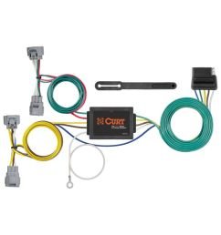 custom wiring harness 5 way flat output sku 56513 for 79 44 by curt tconnector toyota tacoma t100 trailer wiring harness 56513 [ 1024 x 1024 Pixel ]