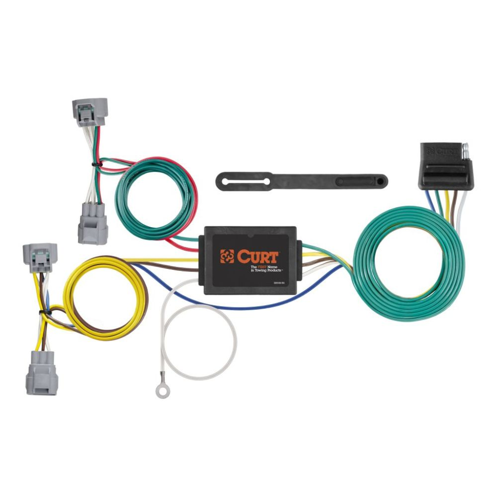 medium resolution of custom wiring harness 5 way flat output sku 56513 for 79 44 by curt tconnector toyota tacoma t100 trailer wiring harness 56513
