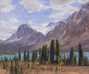 Bow Lake Glacier