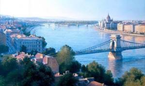 The Danube on the Budapest