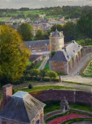Roof Top Vista: Chateau de Belleroy