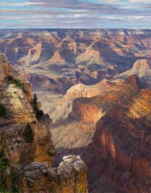 Afternoon Shadows- Pipe Springs Overlook by Curt Walters