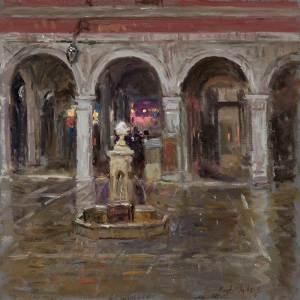 Fountain at the Rialto Market