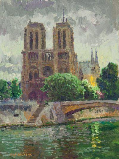 Notre-Dame de Paris by Curt Walters