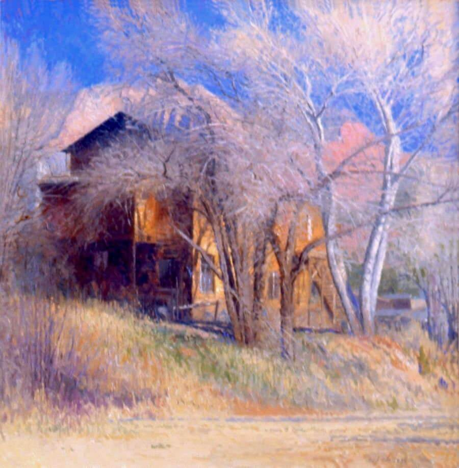 Art Barn in Winter, Sedona