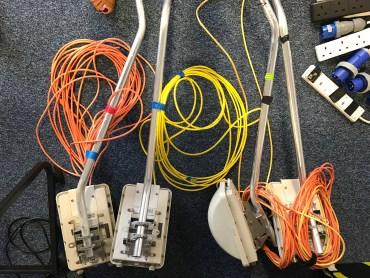 Temporary WiFi equipment