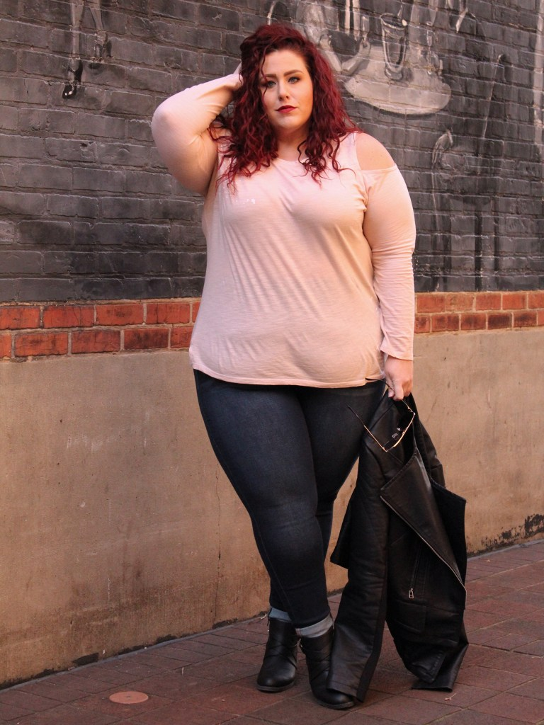 Casual Plus Size Lane Bryant Street Style Look