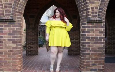 Citrus Bite Plus Size Rue107 Dress