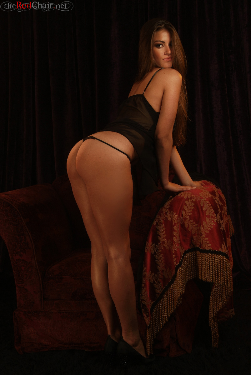 Mary Karola Black Teddy for The Red Chair  Curvy Erotic