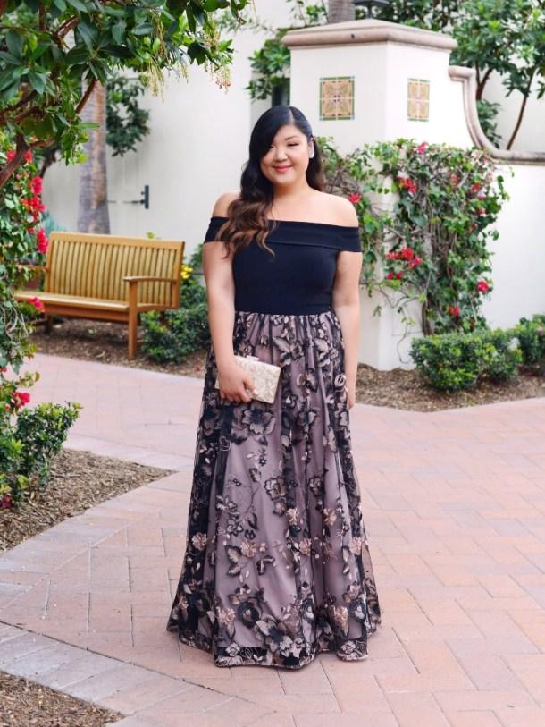 What To Wear Black Tie Wedding Curvy Girl Chic