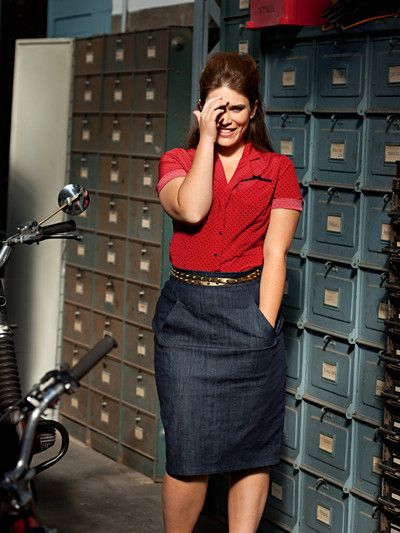Plus Size Denim Skirts 5 best outfits  Page 5 of 5