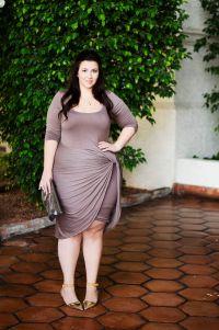 Top 5 Plus Size Dinner Date Dresses - curvyoutfits.com