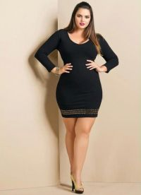 Perfect dresses for plus size petite girls - curvyoutfits.com