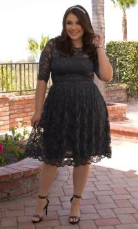 Black And White Church Dresses For Super Plus Size Women ...