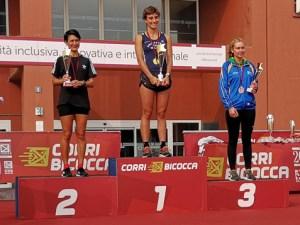 CorriBicocca 2018 - podio femminile