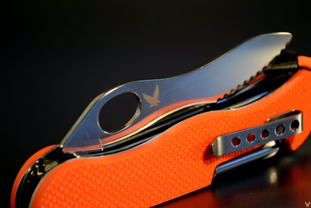 Victorinox Soldatenmesser 08 G10 orange