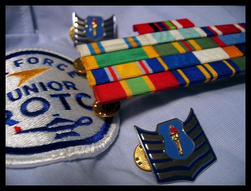air force jrotc virtual ribbon rack