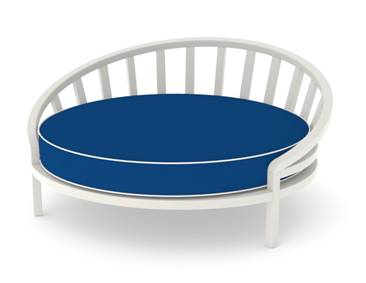 custom round daybed cushions cushion