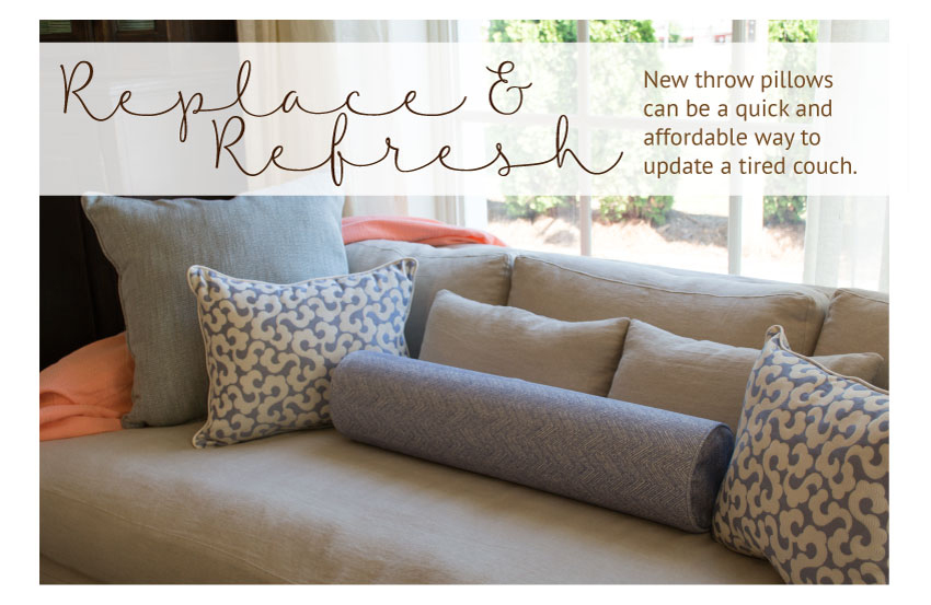 loose pillow back sofa replacement pillows grey microsuede love your couch hate cushions here s what you need to know