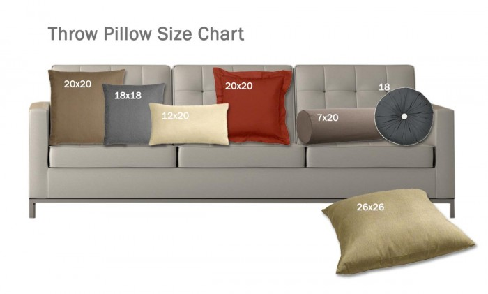 custom sofa design online bauhaus usa lily microfiber size matters: what you need to know about pillows ...