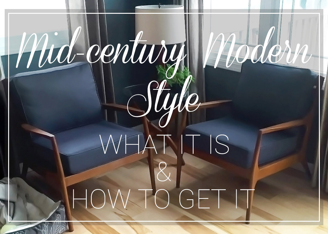 MidCentury Modern Style What It is and How to Get It  Cushion Source Blog