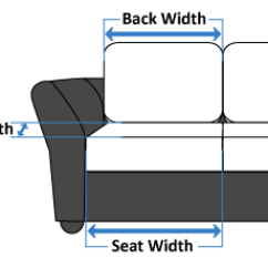 Replacement Cushions For Sofa Backs Folding Bed Uk | The Cushion Warehouse