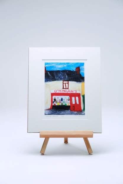 Sweet Street' bright vibrant Art Print