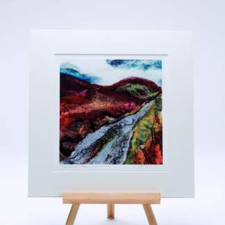 Irish landscape art Print