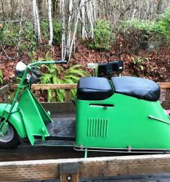 january 2019 1948 cushman step through completely restored by my late brother and i have stacks of receipts to show all that he did rebuilt engine with  [ 1024 x 768 Pixel ]