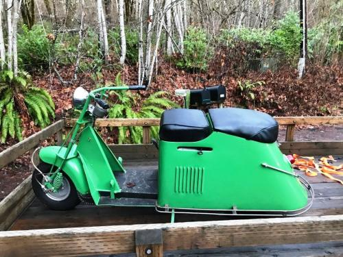 small resolution of january 2019 1948 cushman step through completely restored by my late brother and i have stacks of receipts to show all that he did rebuilt engine with