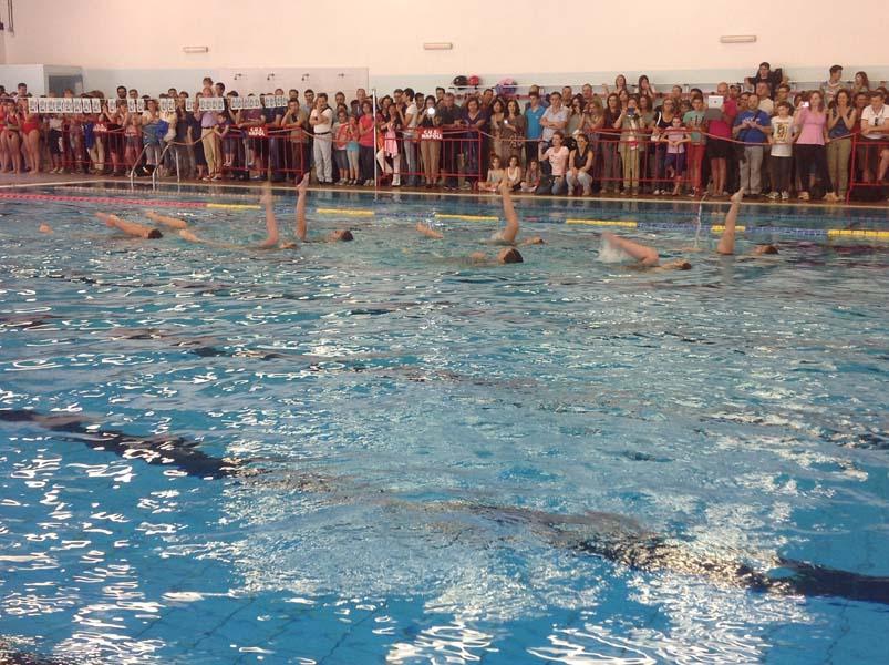 Cus Napoli  Festa Fine Corso Nuoto 2014