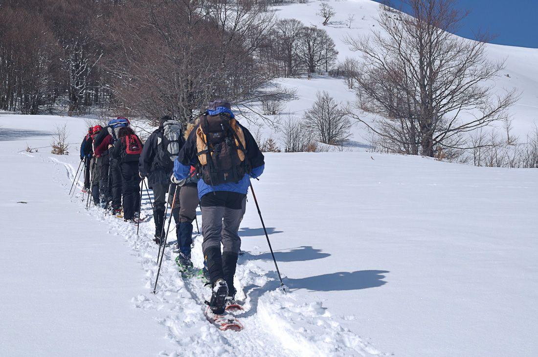 Cus Napoli  Escursione in convenzione con il CAI a Passo Godi