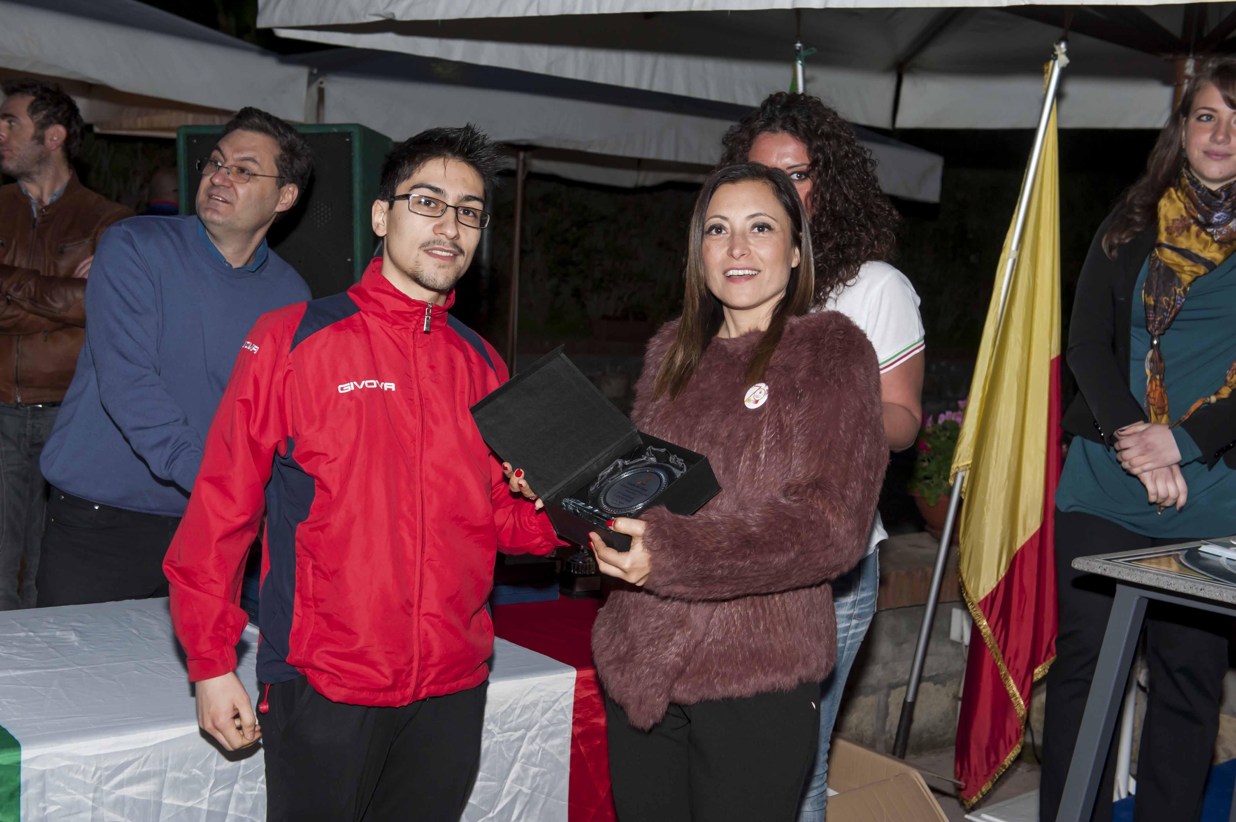 Cus Napoli  70 Congresso  Gli Atleti Premiati
