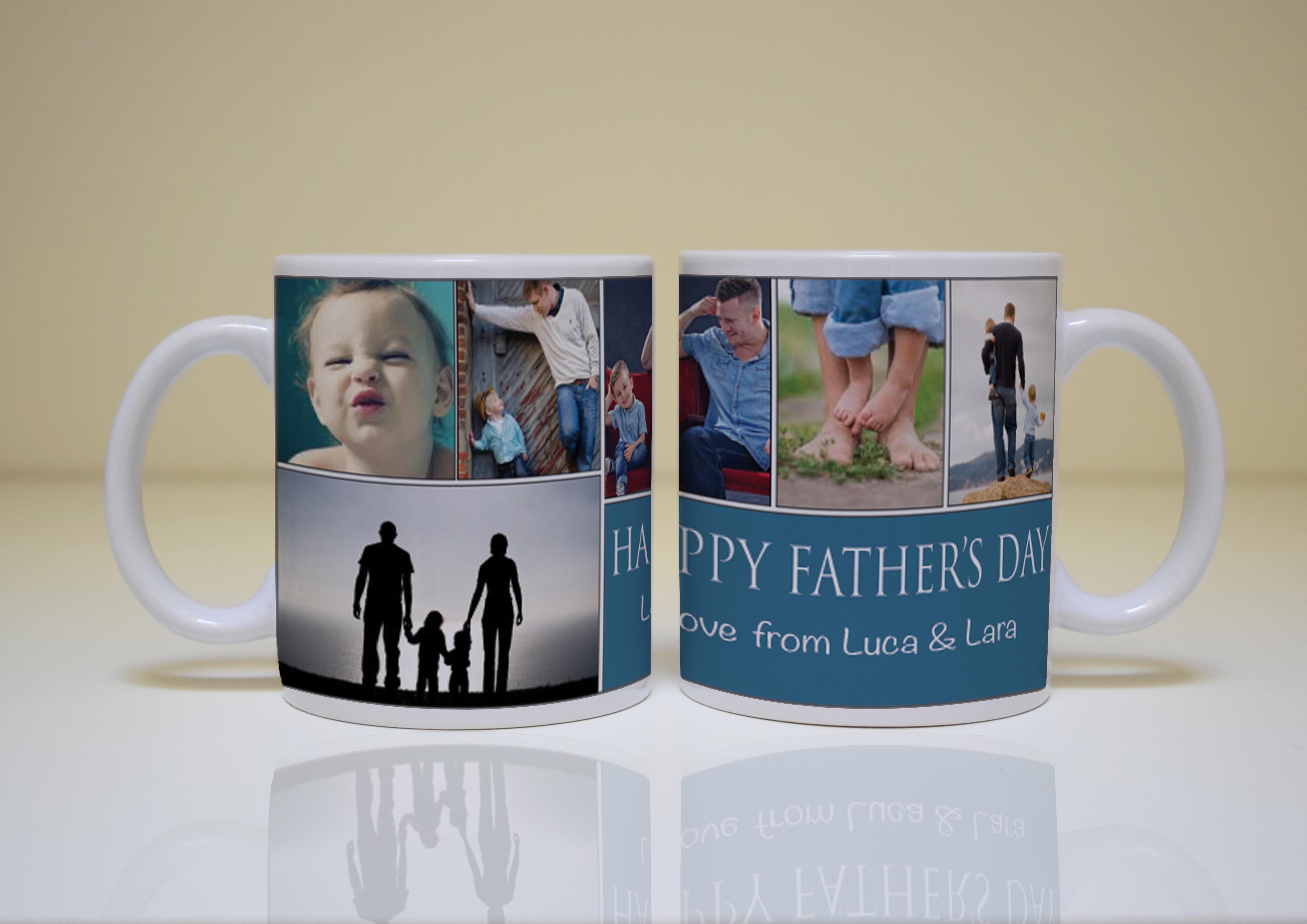 father s day collage