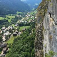 Via corda Chatel Montagne proche de Vichy dans l'Allier