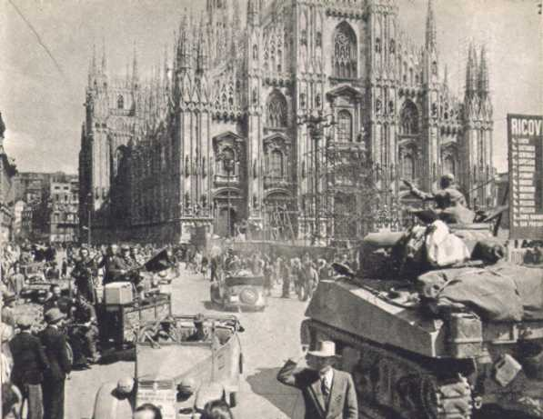 Image result for photos of milan during wwii